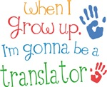 Future Translator Kids T-shirts