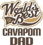 Cavapom Dad (Worlds Best) T-shirts