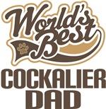 Cockalier Dad (Worlds Best) T-shirts