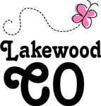 Lakewood Colorado Butterfly T-shirt