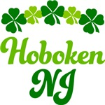 HOBOKEN IRISH SHAMROCK T-SHIRTS