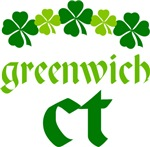 GREENWICH IRISH SHAMROCK T-SHIRTS