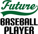 Future Baseball Player Kids T Shirts