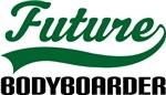 Future Bodyboarder Kids T Shirts
