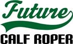 Future Calf Roper Kids T Shirts