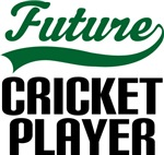 Future Cricket Player Kids T Shirts