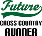 Future Cross Country Runner Kids T Shirts