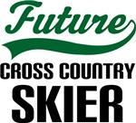 Future Cross Country Skier Kids T Shirts