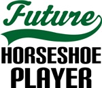 Future Horseshoe Player Kids T Shirts