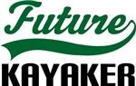 Future Kayaker Kids T Shirts