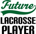 Future Lacrosse Player Kids T Shirts