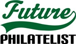 Future Philatelist Kids T Shirts
