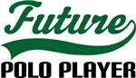 Future Polo player Kids T Shirts
