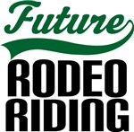 Future Rodeo Riding Kids T Shirts