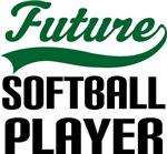Future Softball Player Kids T Shirts