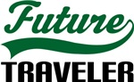 Future Traveler Kids T Shirts