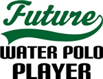 Future Water Polo Player Kids T Shirts