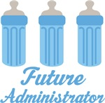 Future Administrator Baby T-shirts