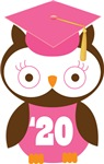Owl 2020 Class Grad Gifts and Shirts