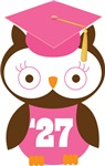 Owl 2027 Class Grad Gifts and Shirts