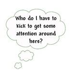 Who Do I Have to Kick?