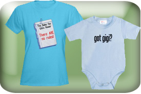 GiGi Gifts and T-Shirts