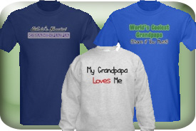 Grandpapa Gifts and T-Shirts