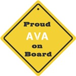 Proud Ava on Board