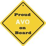 Proud Avo on Board