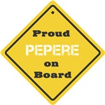 Proud Pepere on Board