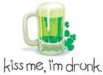 Kiss me, I'm drunk