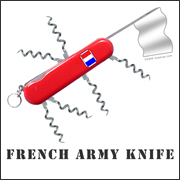 French Army Knife T-Shirt