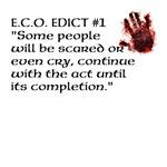 E.C.O. Edict #1