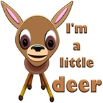 Fawn T-Shirts, I'm a Little Deer