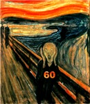 Edvard Munch, The Scream 60th Birthday Gifts!