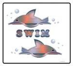 Sunset Swim Fish