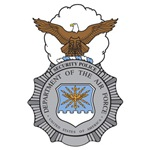 Air Force Security Police Badge (Color)