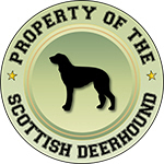 Property of the Scottish Deerhound
