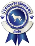 I'd Rather Be Showing My Jindo