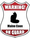 Warning! Maine Coon