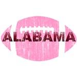 Alabama Football Pink