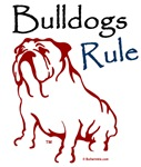 Bulldog Rule Red