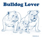 Bulldog Lover Blue