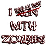 iDrag My Feet with Zombies