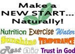 Make a NEW START...Naturally!