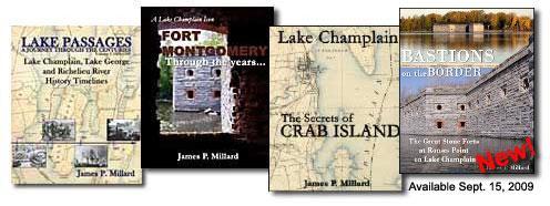 Books by Vermont author Jim Millard