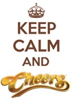 Keep Calm and Cheers T-Shirts