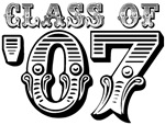 Class of 2007 School Graduation T-shirts & Gifts