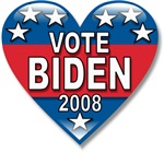 Vote Joe Biden 2008 Political T-shirts & Gifts