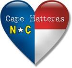 Love Cape Hatteras North Carolina T-shirts & Gifts